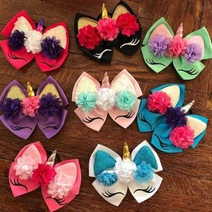 Other - Unicorn bows
